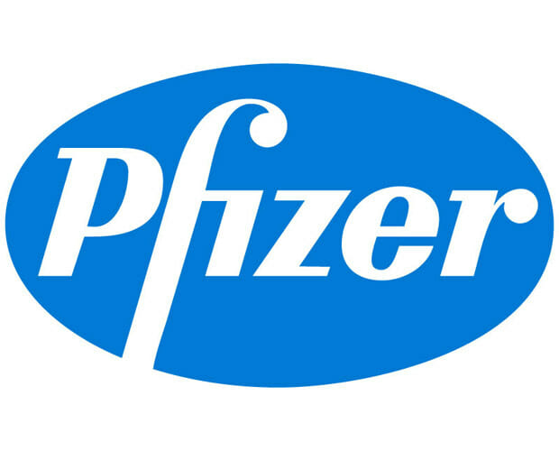 Pfizer Logo – an innovative biopharmaceutical company, developing medicines, vaccines and consumer healthcare products
