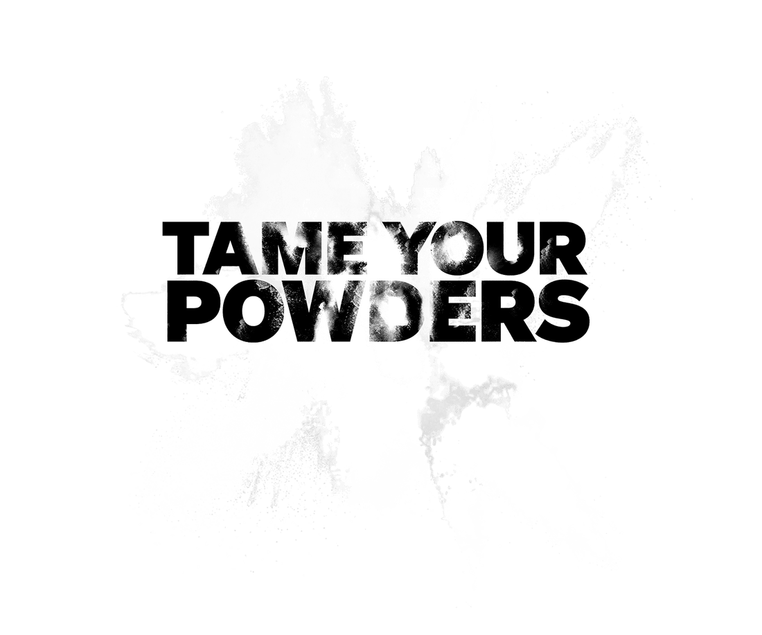 Gam Powders graphic - tame your powders