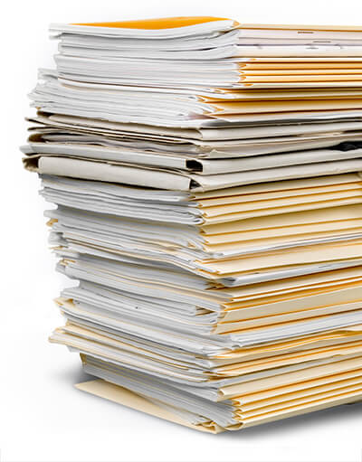 Files of papers of other services